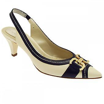 Magrit Women's Sling Back High Heel Court Shoe