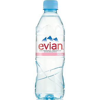 エビアン静かな水