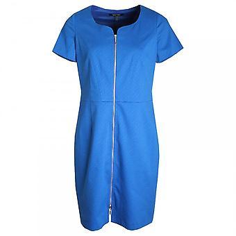 Marie Mero Full Front Zip Short Sleeve Dress