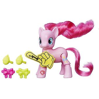 My Little Pony Pinkie Pie Cheering with movable legs