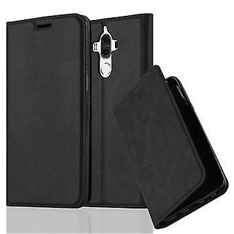 Cas Cadorabo pour Huawei MATE 9 case cover - étui téléphonique avec fermoir magnétique, fonction du stand et compartiment de carte - Case Cover Cover Case Case Book Folding Style
