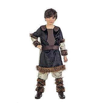 Vikingo niño Fenris niño pequeño bárbaro joven traje del