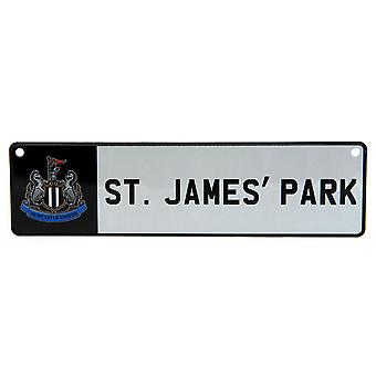 Newcastle United FC Official Stadium Sign
