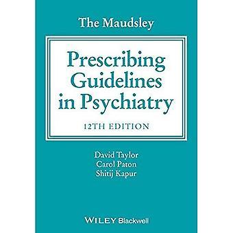 De Maudsley voorschrijven van de richtsnoeren in de psychiatrie