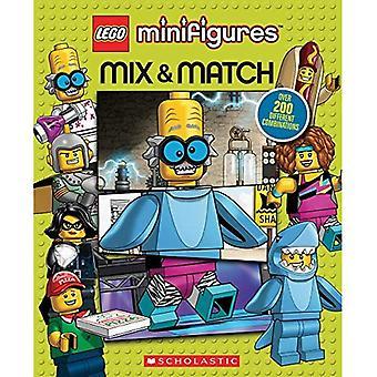 LEGO Minifiguren: Mix and Match (LEGO ikonischen) [Pappband]