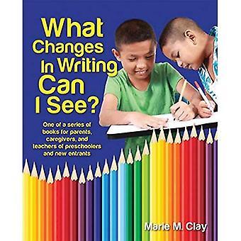 Cosa cambia nella scrittura può vedere (Marie Clay)
