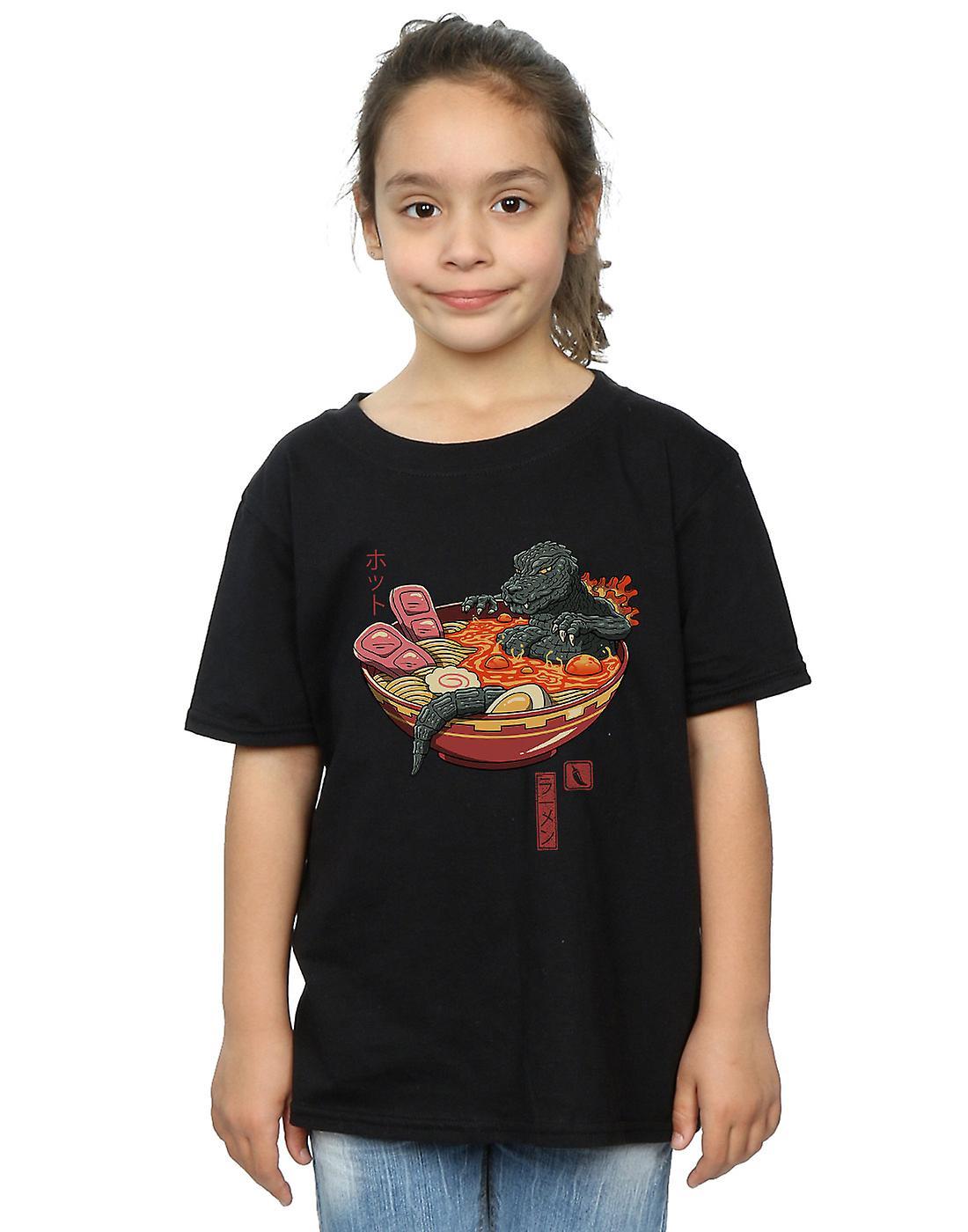Vincent Trinidad Girls Spicy Lava Ramen King T-Shirt