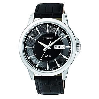 Citizen quartz wristwatch leather BF2011 _ 01EE
