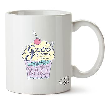 Hippowarehouse buone cose vengono a coloro che cuocere 10 oz Mug