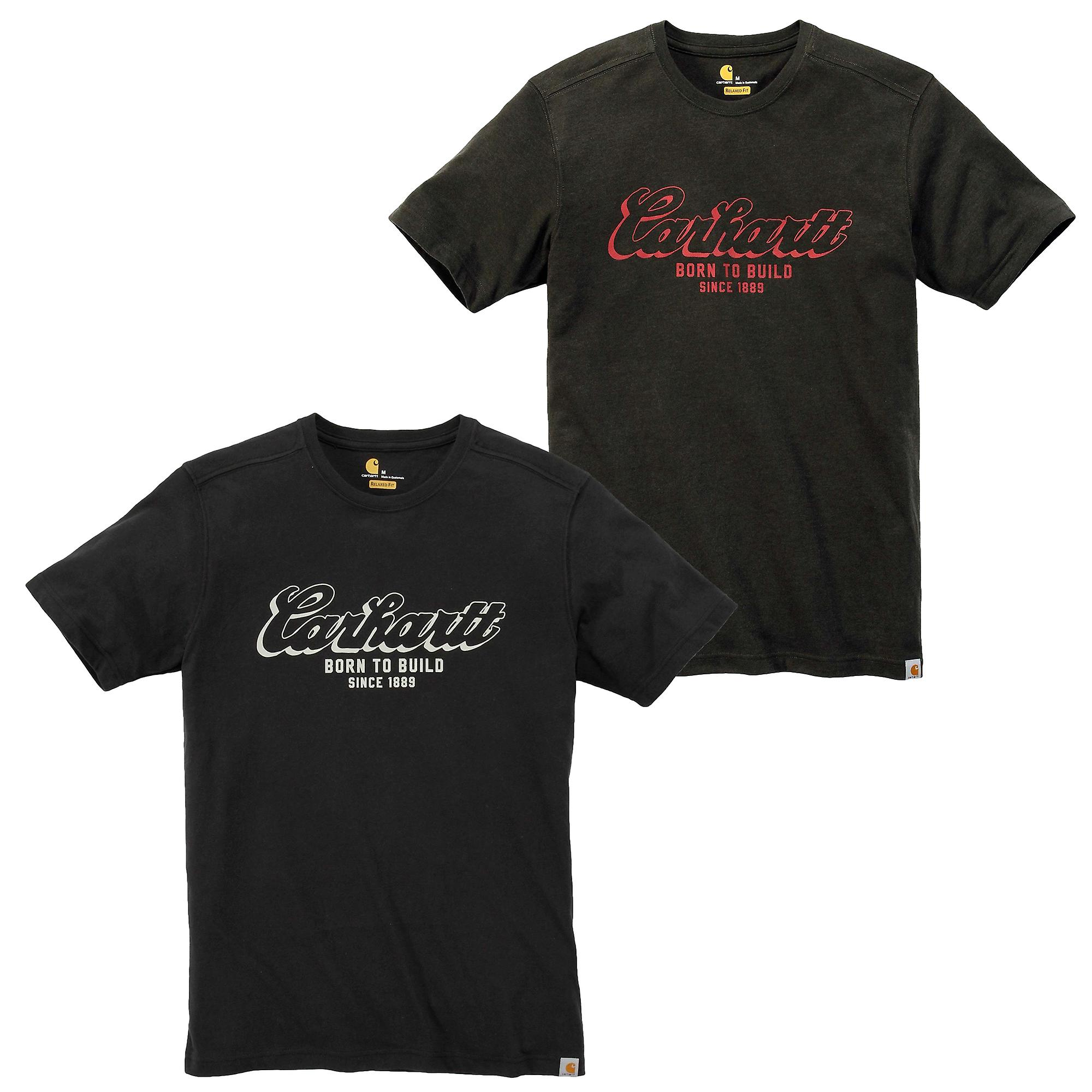Carhartt menn t-skjorte Maddock født for å bygge grafiske kort-ermet