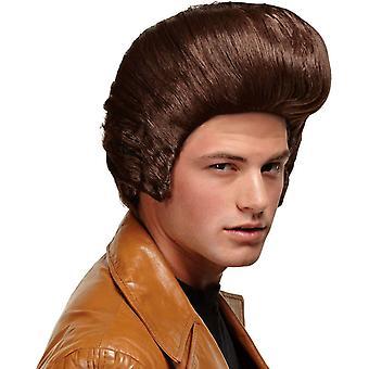 Dollar pappa Brown Wig For menn