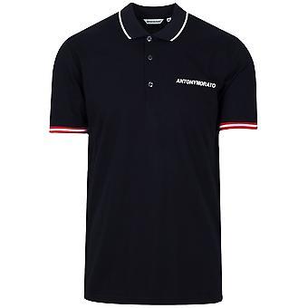 Antony Morato Navy Logo Polo Shirt