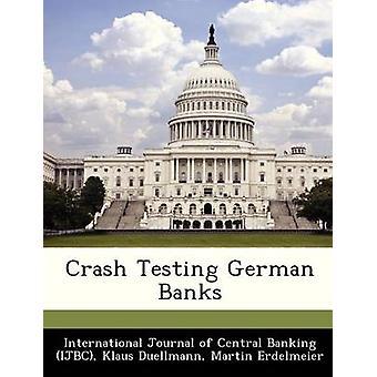 Crash testen van Duitse banken door International Journal of Central Banking