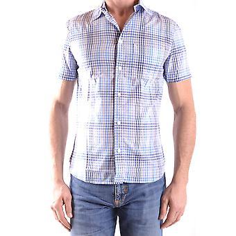 Woolrich Ezbc033005 Men's Multicolor Cotton Shirt