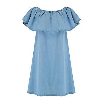 Animalske Senorita vævet kjole