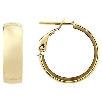 Mark Milton Hoop Earrings - Yellow Gold