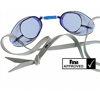 Malmsten Swedish Competition Swim Goggles - Blue