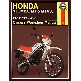 Honda MB - MBX - MT and MTX50 Owner's Workshop Manual (8th Revised ed