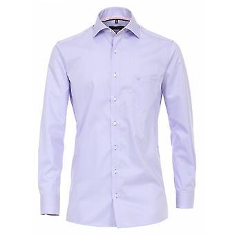 CASA MODA Casa Moda Formal Pink Stripe Long Sleeve Shirt