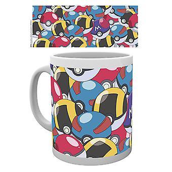 Pokemon Pokeballs Boxed Drinking Mug