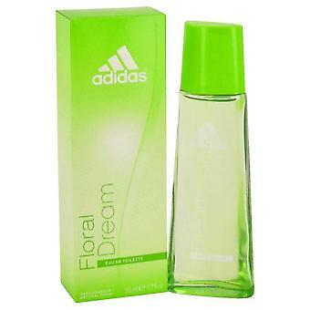 Adidas floral dream eau de toilette spray by adidas 439946 50 ml