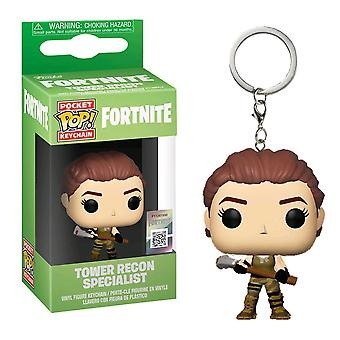 Fortnite Tower Recon Specialist Pocket Pop! Keychain