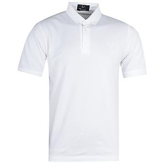 Fred Perry Made In Japan weiß Pique Polo Shirt