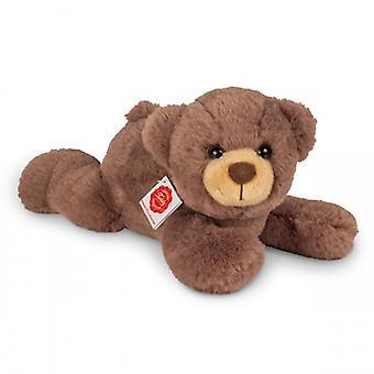 Hermann Teddy nallebjörn liggande chokladbrun