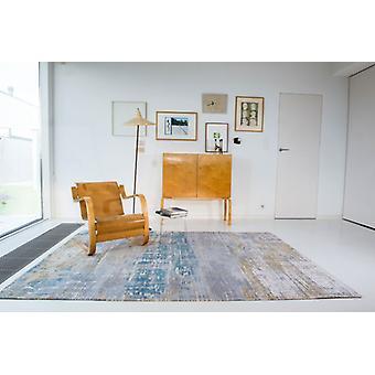 Vetas Atlántico 8718 Long Island rectángulo azul alfombras alfombras modernas