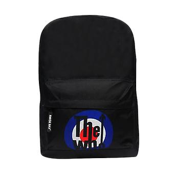The Who Target Logo Laptop Backpack