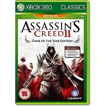 Assassins Creed II Greatest Hits Xbox One Compatible Xbox 360 Game