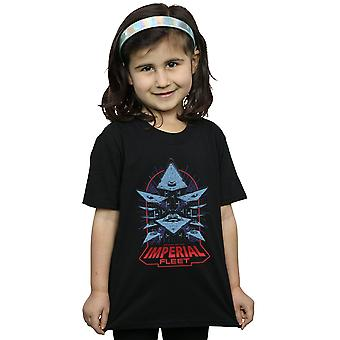 Star Wars Girls Attack Of The Imperial Fleet T-Shirt