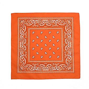 Bandana scarf with classic paisley pattern in polyester