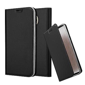 Hülle für Motorola MOTO G5S PLUS Klappbare Handyhülle - Cover - mit Standfunktion und Kartenfach