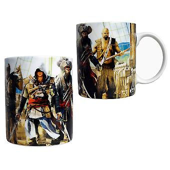 Assassin's Creed 4 Black Flag Crew Coffee Mug