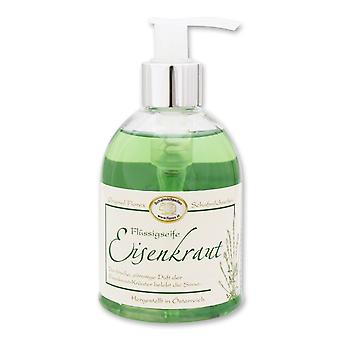 O sabão líquido de florex-erva-distribuidor do ferro com a fragrância forte fresca do citrino revigora os sentidos com ervas 250 ml