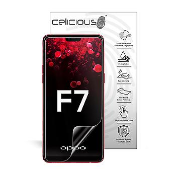 Celicious Impact Anti-Shock Shatterproof Screen Protector Film Compatible with OPPO F7