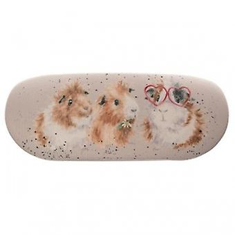 Wrendale Designs Guinea Pig Glasses Case