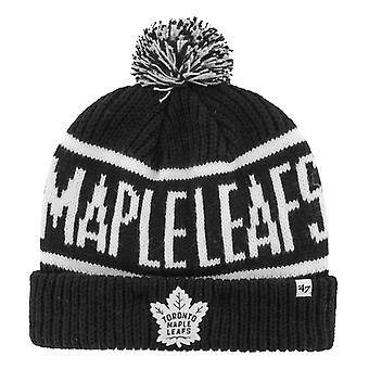 47 Brand Knit Winter Hat - CALGARY Toronto Maple Leafs
