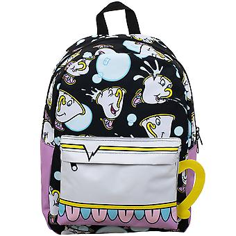 Backpack - Beauty & the Beast - Chip Sublimated Panel Print New bp8012dsp
