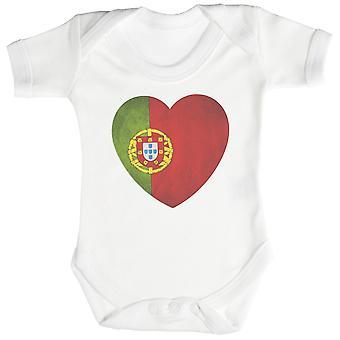 Elsker Portugal hjerte Baby Body / Babygrow