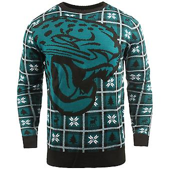 NFL Ugly Sweater XMAS Knit Sweater - Jacksonville Jaguars