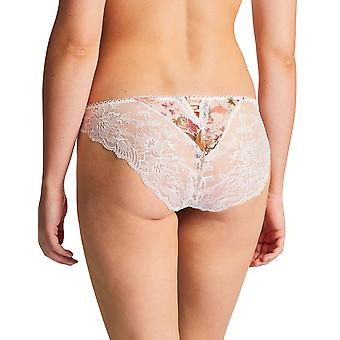 Aubade PA27 Women's Reine Des Pres Floral Lace Knickers Panty Full Brief