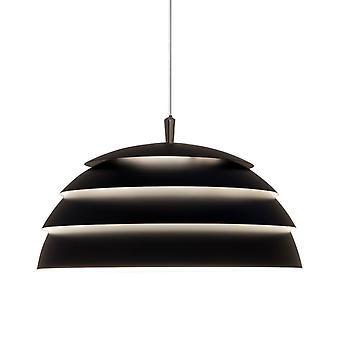 BELID Covetto één helft Globe vier laag hanger In zwart
