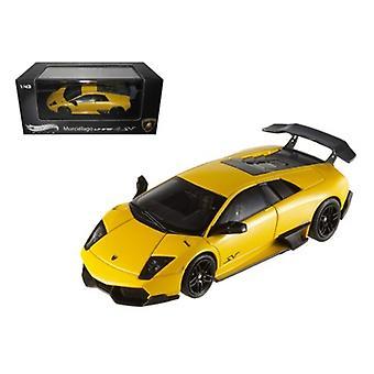 Lamborghini Murcielago LP 670-4 SV Yellow Elite Edition 1/43 par Hortwheels