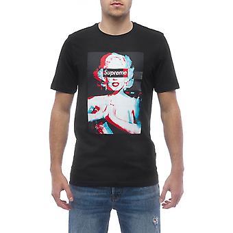 Men's Black Supreme Grip Short Sleeve T-shirt