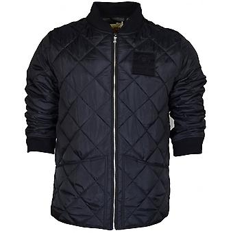 Franklin & Marshall Va030 Polyester Padded Quilted Black Jacket