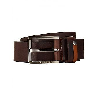 Ted Baker Men's Chocolate Patsee Belt