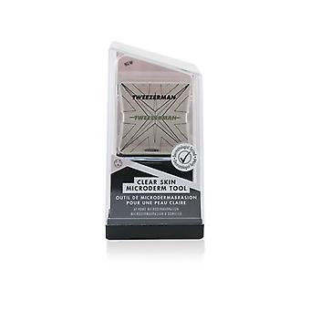 Herramienta de microderm de piel clara de Tweezerman - En casa Microdermabrasión (colección de estudio) - 1pc