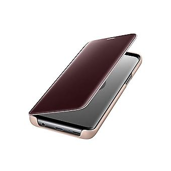 Genuine Samsung Clear View Standing Case Cover for Samsung Galaxy S9+ Plus - Gold